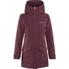 Didriksons 1913 Frida Parka Femme, wine red